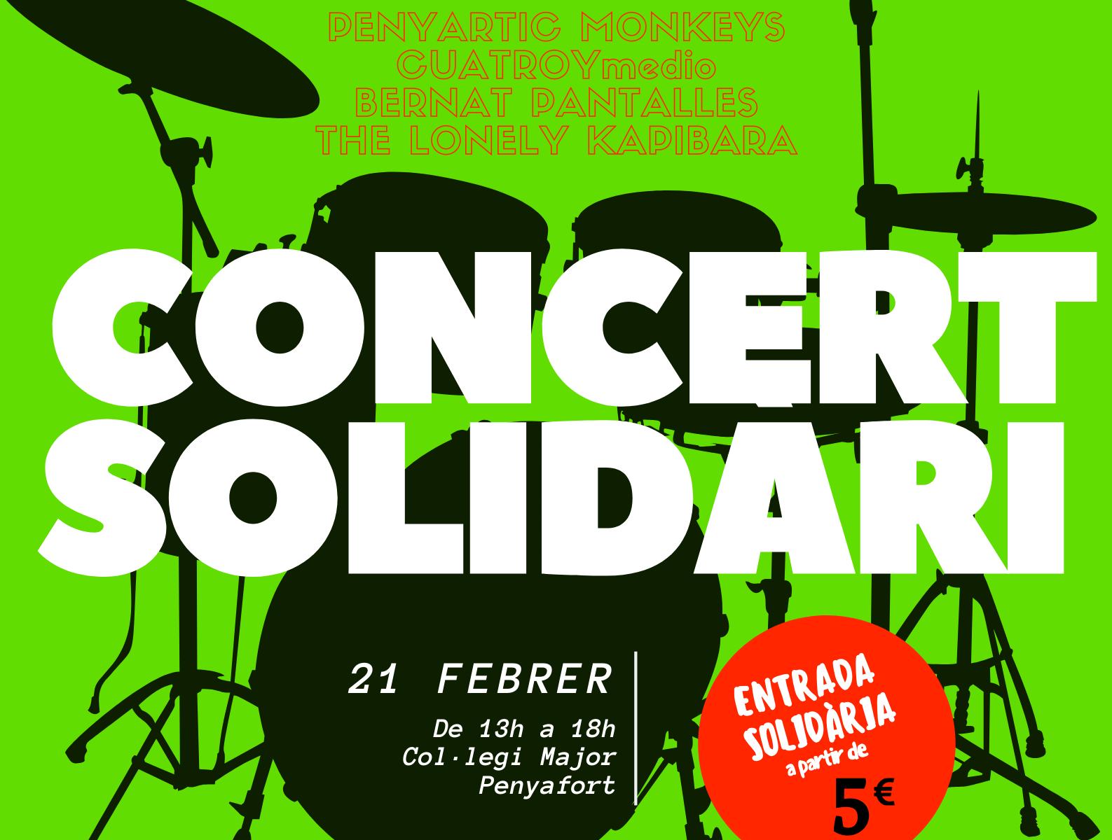 Cartell promocional 1er Concert Solidari The07gift